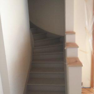 trapp renovering före
